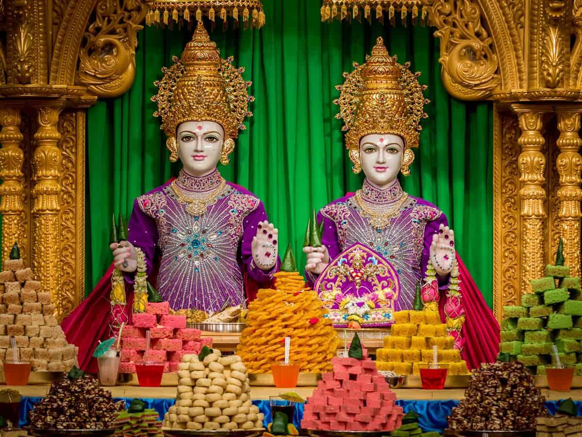 BAPS Swminarayan Temple Edison 2