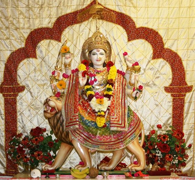 Durga Mandir at Fairfax Station 1