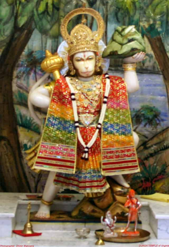 Durga Mandir at Fairfax Station 4