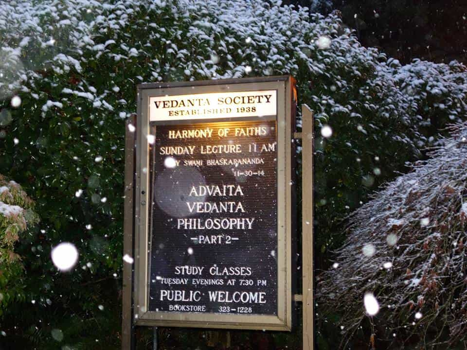 Vedanta Society Of Western Washington Seattle 2