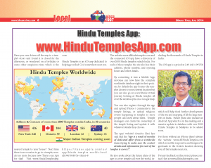 Hindu Temples App Featured in Bharat Times_June2014_page08