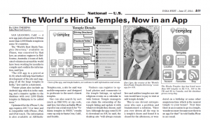 India West Hindu Temples App Print Jun27