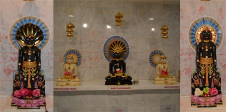 Jain Temple at Franklin Township